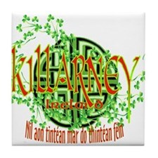 Killarney Shamrock Tile Coaster