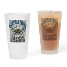 Blue Crab Tavern Drinking Glass