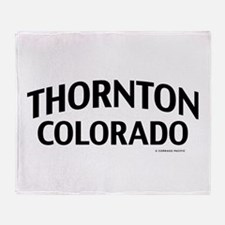 Thornton Colorado Throw Blanket