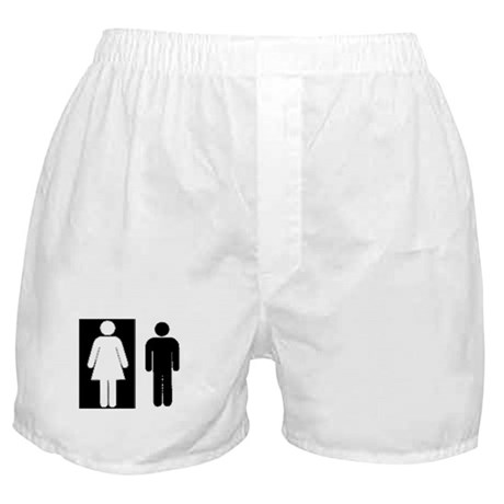Interracial - WF/BM Boxer Shorts