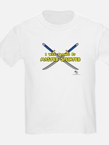 Trained by Master Splinter Ash Grey T-Shirt