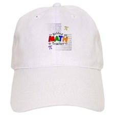 Retired Math Teacher 1 Baseball Baseball Cap
