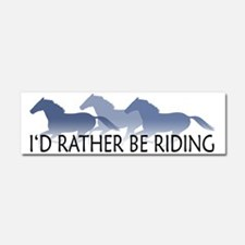 Cute Horse Car Magnet 10 x 3