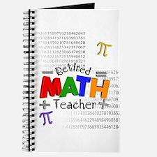 Retired Math Teacher 1 Journal