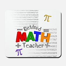 Retired Math Teacher 1 Mousepad