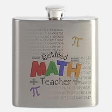Retired Math Teacher 1 Flask