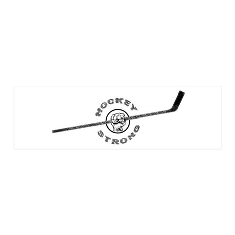Hockey Strong Wall Decal