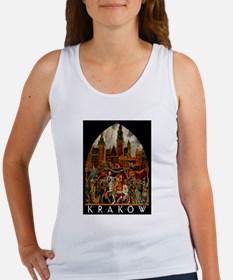 Vintage Krakow Poland Travel Tank Top