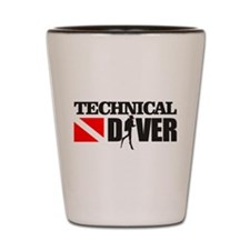 Technical Diver Shot Glass