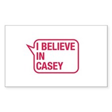 I Believe In Casey Decal
