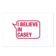 I Believe In Casey Postcards (Package of 8)
