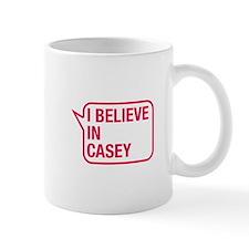 I Believe In Casey Small Small Mug