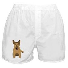 German Shepherd! Boxer Shorts