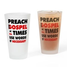 Cute Prayer Drinking Glass