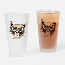 Grumpy Cat Drinking Glass