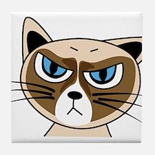 Grumpy Cat Tile Coaster