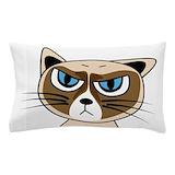 Grumpy cat Pillow Cases