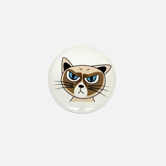 Grumpy Cat Mini Button