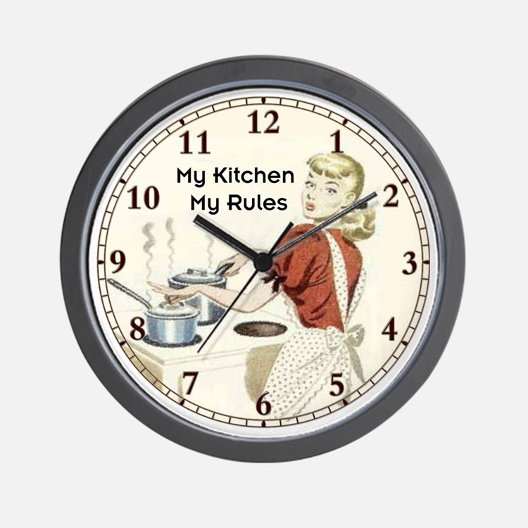 my kitchen wall clock