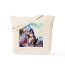Hawk Woman Tote Bag
