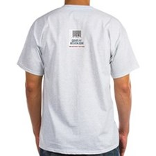 Eat My Ass & Balls Hidden Mes Ash Grey T-Shirt