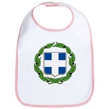 Greek Coat of Arms Bib