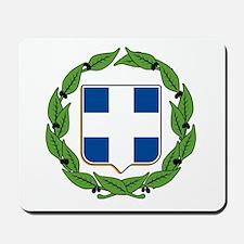 Greek Coat of Arms Mousepad