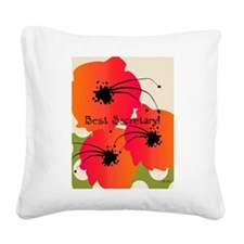 Best Secretary Square Canvas Pillow