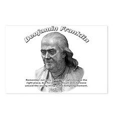 Benjamin Franklin 04 Postcards (Package of 8)