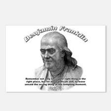 Benjamin Franklin 04 Postcards (Package of 8)