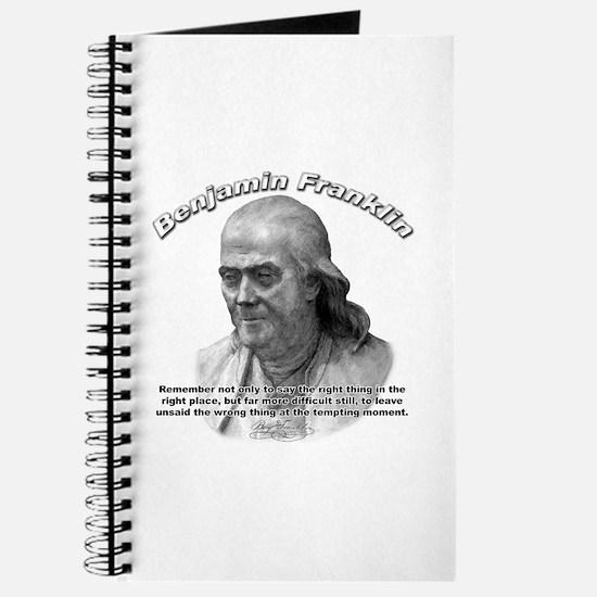 Benjamin Franklin 04 Journal