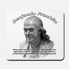 Benjamin Franklin 04 Mousepad