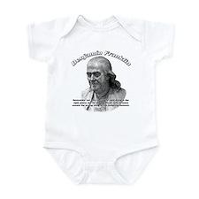 Benjamin Franklin 04 Infant Bodysuit
