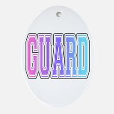 color guard Oval Ornament