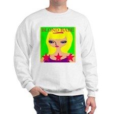 Blond Babe Jumper