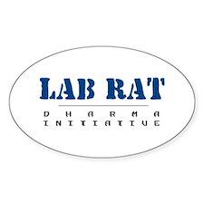 Lab Rat - Dharma Initiative Oval Decal
