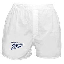 Established in 1944 birthday designs Boxer Shorts