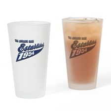 Established in 1954 birthday designs Drinking Glas
