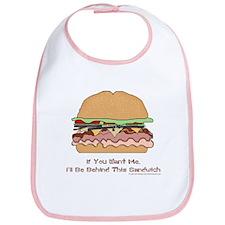 Behind This Sandwich Bib