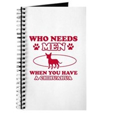 Funny Chihuahua mommy designs Journal