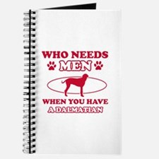 Funny Dalmatian mommy designs Journal