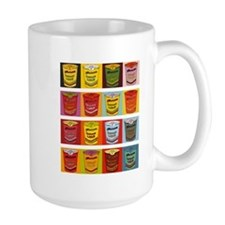 Colored Maruchan Cups of Noodles Mug
