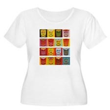 Colored Maruchan Cups of Noodles Plus Size T-Shirt