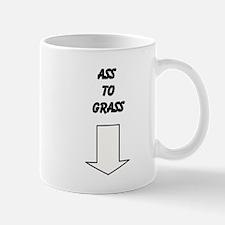 Ass to grass Small Mug