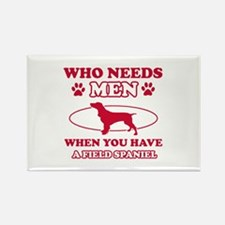 Funny Field Spaniel mommy designs Rectangle Magnet