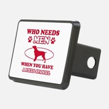 Funny Field Spaniel mommy designs Hitch Cover