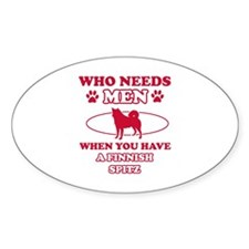 Funny Finnish Spitz mommy designs Decal