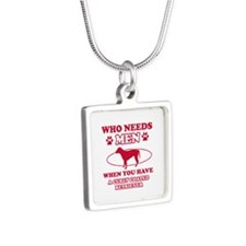 Funny Curly-Coated Retriever mommy designs Silver