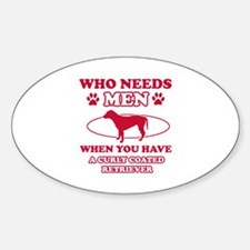 Funny Curly-Coated Retriever mommy designs Decal