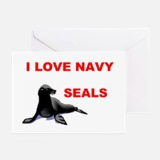 LOVE NAVY SEALS Greeting Cards (Pk of 10)